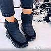 Зимние черные кроссовки 36 размер