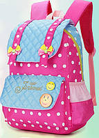 Школьный рюкзак для девочки+подарок пенал с канцелярскими принадлежностями