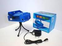 Лазерный проектор, стробоскоп, диско лазер ХХ-027 c триногой