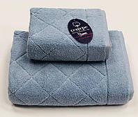 Полотенце Gestepe Premium Eva 70-140 голубой, фото 1