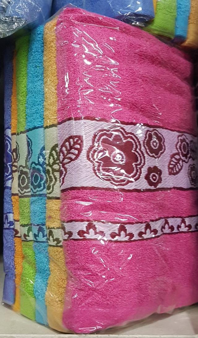 фотография полотенца лицевые в расцветках