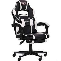 Кресло VR Racer Dexter Vector черный/белый AMF