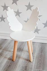 Стул детский Ангел с крылышками белый KR112