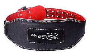 Пояс для важкої атлетики PowerPlay 5053 Чорно-Червоний XS