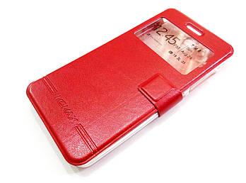 Чехол книжка с окошком momax для Lenovo Vibe S1 красный
