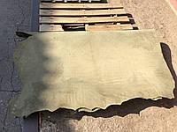 Натуральная кожа КРС. Кулат ременной Оливковый, 4.5 мм. Киев