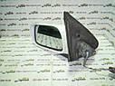 Зеркало заднего вида левое Nissan Almera N15 седан 5-дв хетчбек белое, фото 2