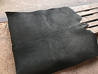 Кожа натуральная ременная чепрачная, Краст Черный (ЧЕПРАК) 3.5-4 мм.