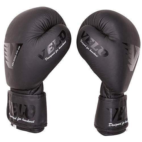 Боксерские перчатки кожаные Velo Mate