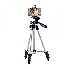 Штатив для камеры и телефона Tripod 3110 (35-103 см) с непромокаемым чехлом, трипод, тренога для смартфона, фото 3