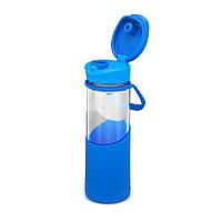 Бутылка для напитков 0,55 л Синяя Aladdin Enjoy Glass (6939236342872)