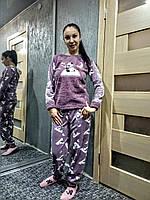 Женская пижамка флиссовая Турция супер качество