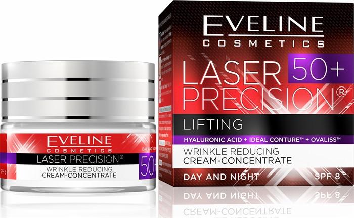 Крем глибокий ліфтинг Laser Precision 50+ Eveline Cosmetics, Евелін 50 мл