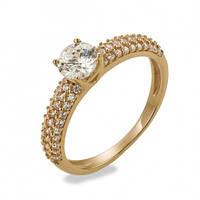Золотое кольцо для помолвки Незабываемое Предложение