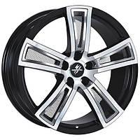 Литые диски Fondmetal Tech 6 R17 W7.5 PCD5x112 ET35 DIA57.1 (black polished)