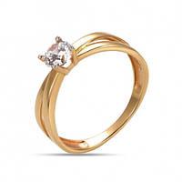 Золотое кольцо для предложения руки и сердца Богиня