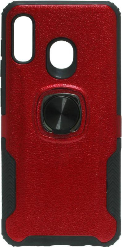 Накладка SA A205/A305 red Magnet Ring Hard Case