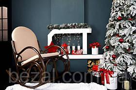 Кресло-качалка из ротанга Олимп