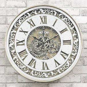 Настенные часы с зеркалом 60x10 см Retro Mirror, фото 2
