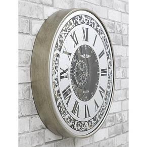Настенные часы с зеркалом 60x10 см Retro Mirror, фото 3