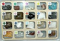 """Колекція """"Гірські породи та мінерали"""" для початкової школи"""