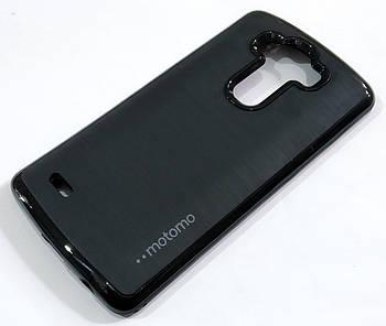 Чехол противоударный Motomo для LG G3 d855 черный