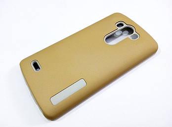 Чехол противоударный Dual Pro для LG G3 поликарбонат золотой