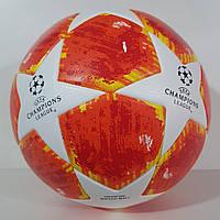 """Мяч футбольный №5 """"CHAMPIONS LEAGUE"""" TOP Training Match Ball Replica (красно-белый), фото 1"""
