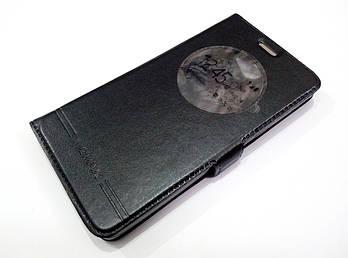 Чехол книжка с окошком momax для LG Bello II x150 / Bello 2 / LG Max x155 черный