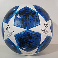 "Мяч футбольный №5 ""CHAMPIONS LEAGUE"" TOP Training Match Ball Replica (Сине-белый), фото 1"
