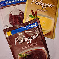 Пудинг. Шоколадный, ванильный, молочный