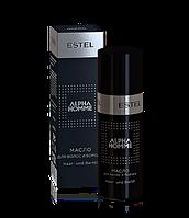 Estel professional Масло для волос и бороды ALPHA HOMME, 50 мл