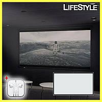 Экран для проектора 100inc + ПОДАРОК!!! Наушники Apple iPhone, фото 1