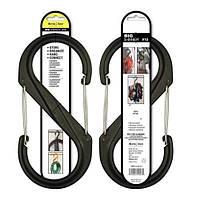 Карабин пластиковый Nite Ize Plastic S-Biner Size 10 черный NI796