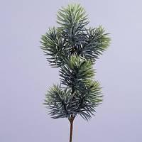 Ветки сосновые литые искусственные зеленые, пластик