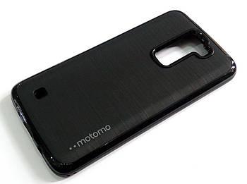 Чехол противоударный Motomo для LG K8 k350n/e черный