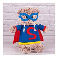 Мягкая игрушка Супер-Котёнок 1 кот супергерой 30 см Копица 00067-51
