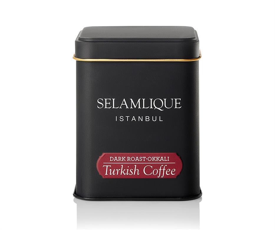 Турецкий кофе молотый Selamlique Темная обжарка 125 г