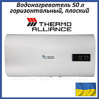 Бойлер 50 литров Thermo Alliance DT50H20G(PD). Электрический накопительный водонагреватель горизонтальный