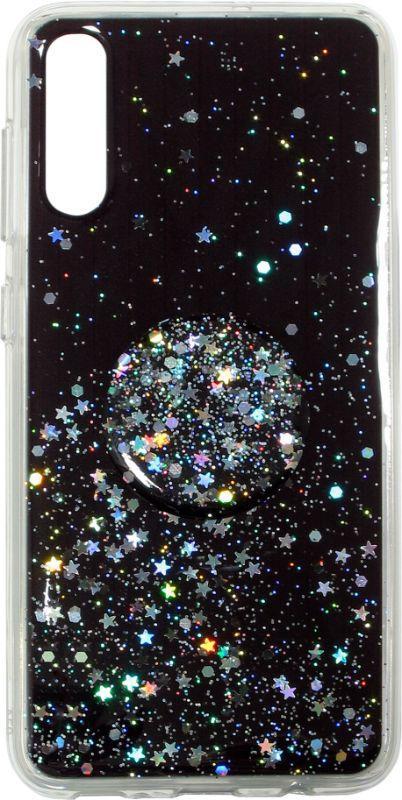 Накладка SA A505/A307 Shine Stars+ Popsocet
