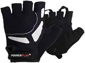 Велорукавички PowerPlay 5087 Чорні XS