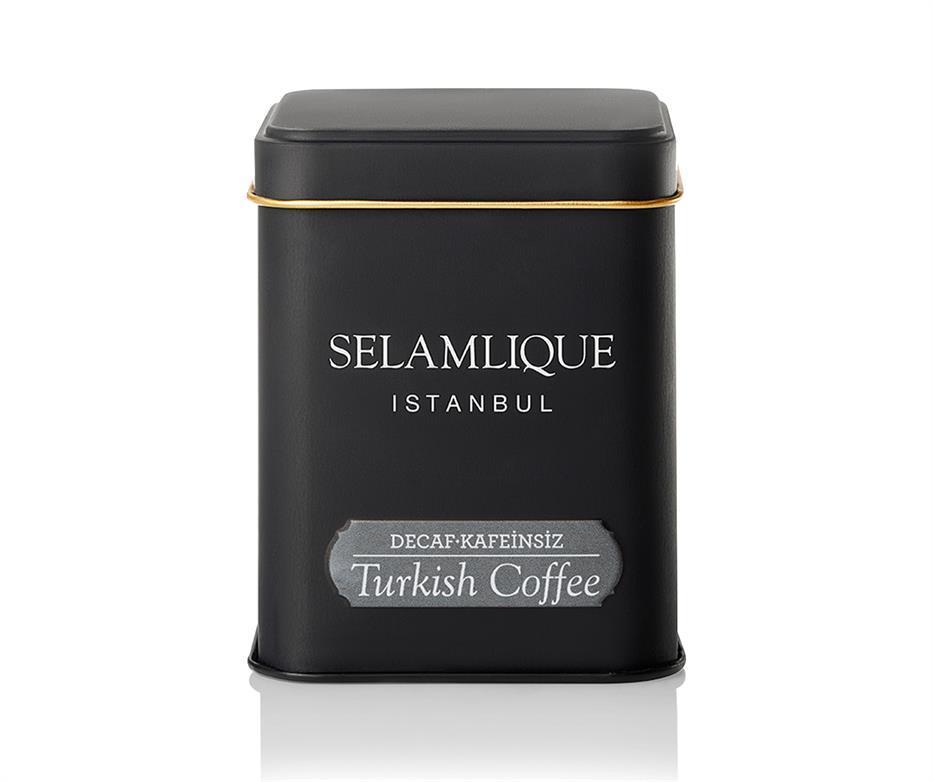 Турецкий кофе молотый Selamlique без кофеина 125 г