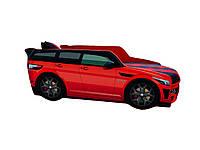 Ліжко-машинка Range Rover з підйомним механізмом, матрацом, подушкою та м'яким спойлером