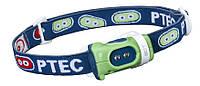 Фонарь налобный Princeton Tec Bot LED PTC611, сине-зеленый (4823082707416)