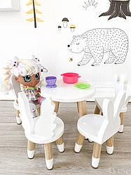 Меблі для ляльок 5 шт білий KR105