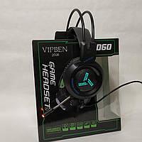 Наушники игровые с микрофоном VIPBEN