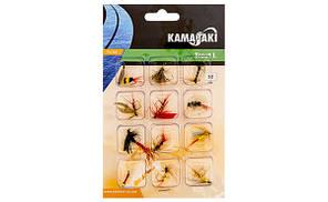 Набір мушок Energofish Kamasaki Fly Set 12шт (84309010)