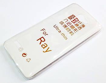 Чехол для LG Ray X190 силиконовый ультратонкий прозрачный