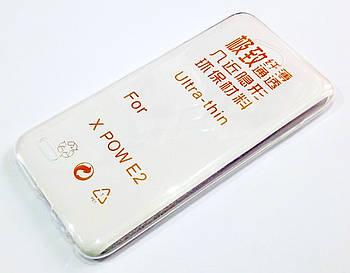 Чехол для LG X Power 2 силиконовый ультратонкий прозрачный