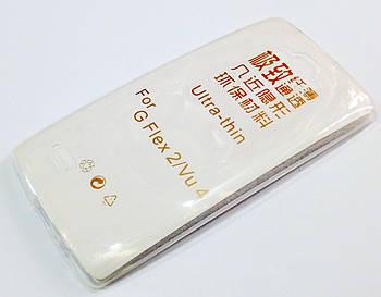Чехол для LG G Flex 2 силиконовый ультратонкий прозрачный